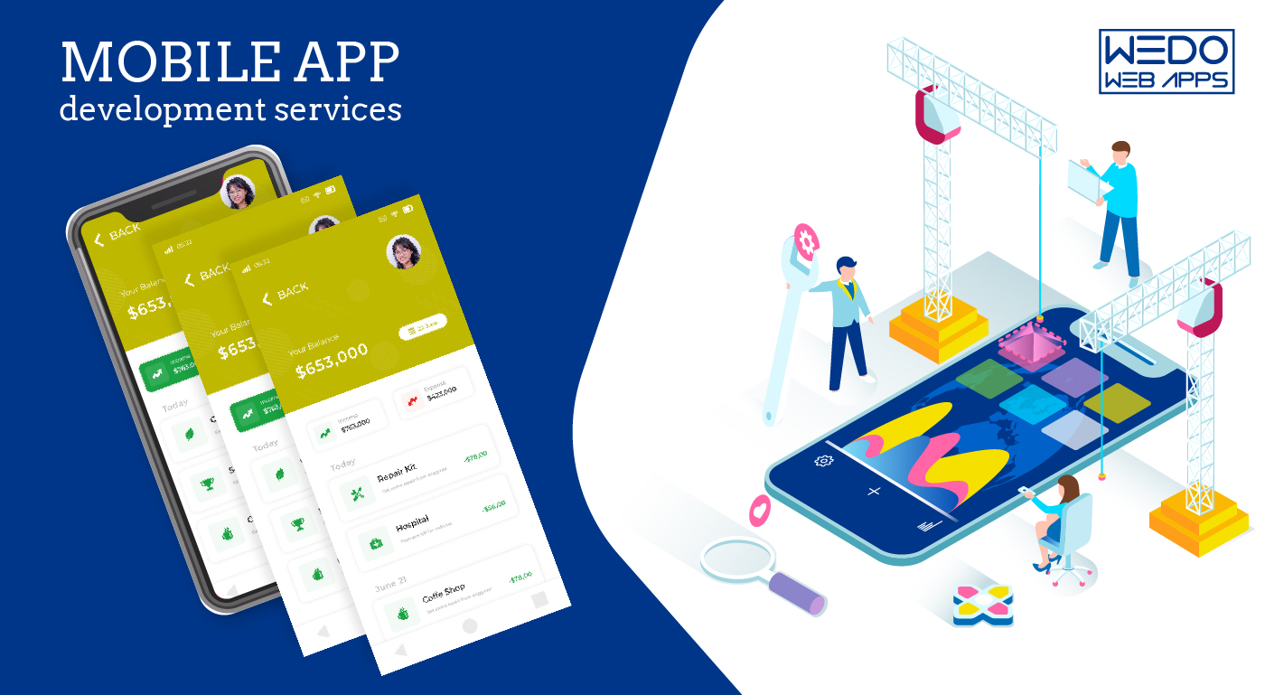 The incredible mobile app development services