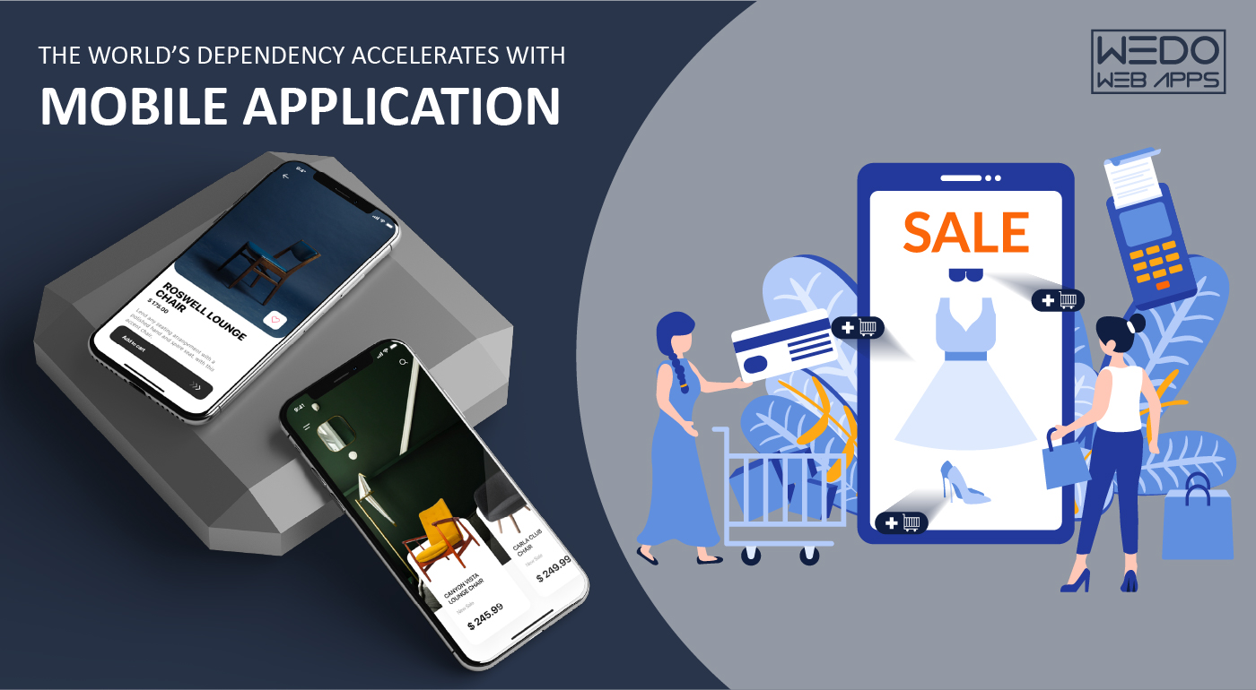 The world's dependency accelerates with mobile application development services